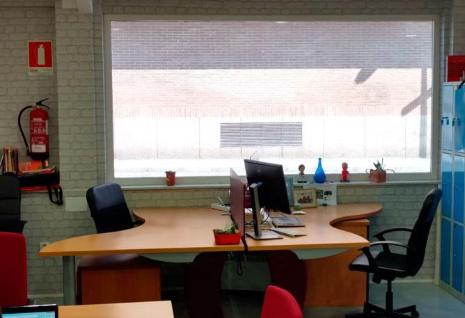 mesa fija en coworking majadahonda