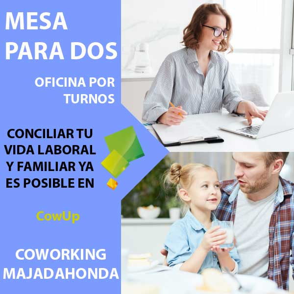 CowUp Coworking Majadahonda Covid19